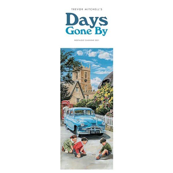 Otter House Days Gone By, Nostalgia by Trevor Mitchell Slim Calendar 2021