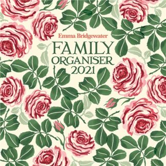 Otter House-Emma Bridgewater, Pink Roses Wall Planner 2021