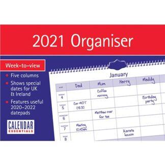 Otter House-Essential Family Organiser WTV Planner A4 2021