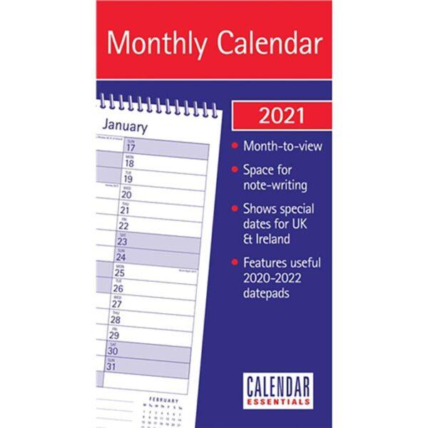 Otter House-Essential MTV Stubby Slim Calendar 2021