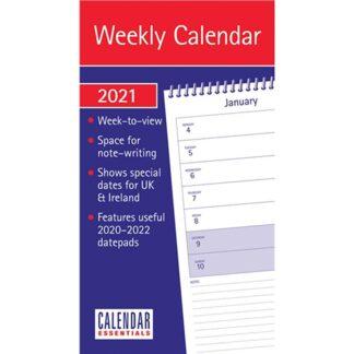 Otter House-Essential WTV Stubby Slim Calendar 2021