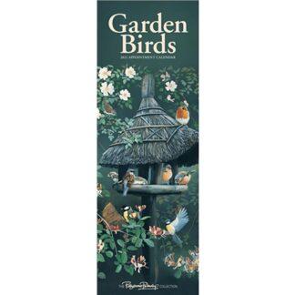 Otter House Garden Birds by Pollyanna Pickering Slim Calendar 2021