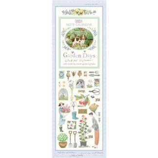 Otter House Garden Days Slim Calendar 2021