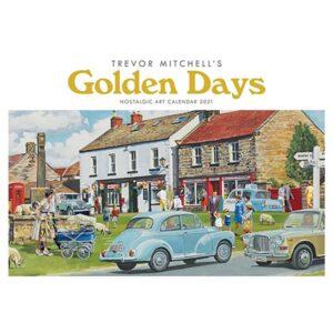 Otter House-Golden Days, Trevor Mitchell A4 Calendar 2021