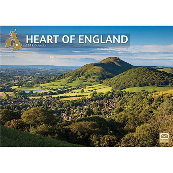 Otter House -Heart of England A4 Calendar 2021