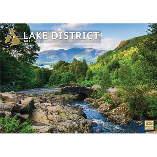 Otter House Lake District A4 Calendar 2021