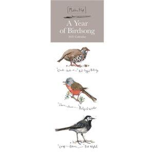 Otter House-Madeleine Floyd, A Year of Birdsong Slim Calendar 2021