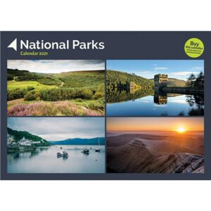 Otter House-National Parks A4 Calendar 2021