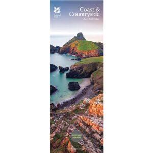 Otter House-National Trust, Coast & Countryside Slim Calendar 2021