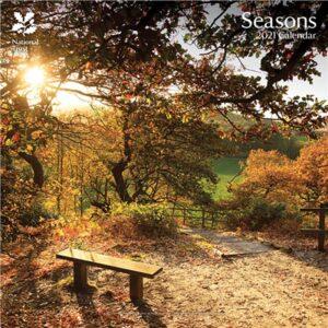 Otter House-National Trust, Seasons Wall Calendar 2021