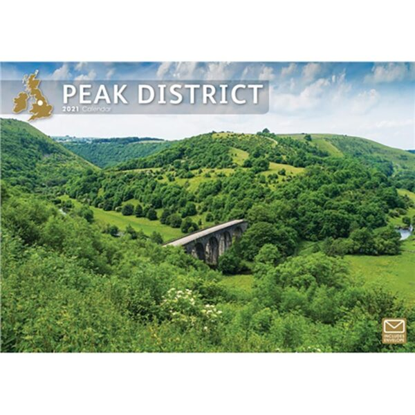Otter House Peak District A4 Calendar 2021