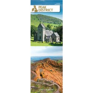 Otter House-Peak District Slim Calendar 2021