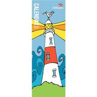 Otter House-RNLI, Lifeboats Slim Calendar 2021