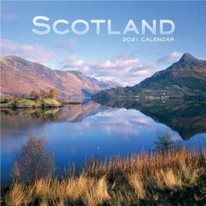 Otter House Scotland Mini Calendar 2021