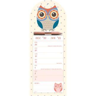 Otter House-Twit Twoo WTV Magnetic Calendar 2021