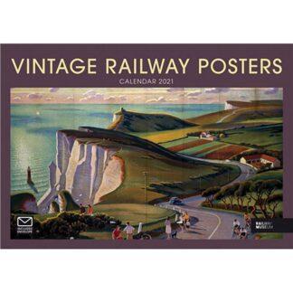 Otter House-Vintage Railway Posters A4 Calendar 2021