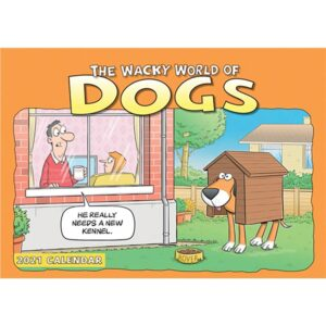 Otter House-Wacky World of Dogs A4 Calendar 2021