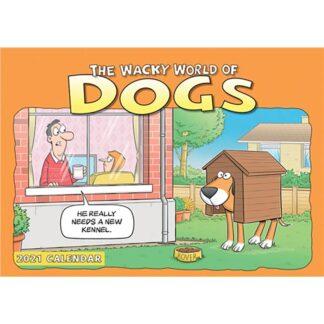 Otter House-Wacky World of Dogs A4 Calendar 2021