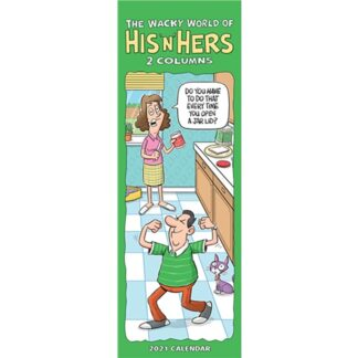 Otter House-Wacky World of His 'n' Hers Slim Planner 2021