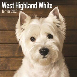 Otter House-West Highland White Terrier Wall Calendar 2021