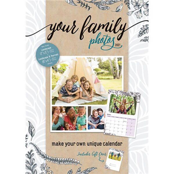 Otter House -Your Family Photos A4 Calendar 2021