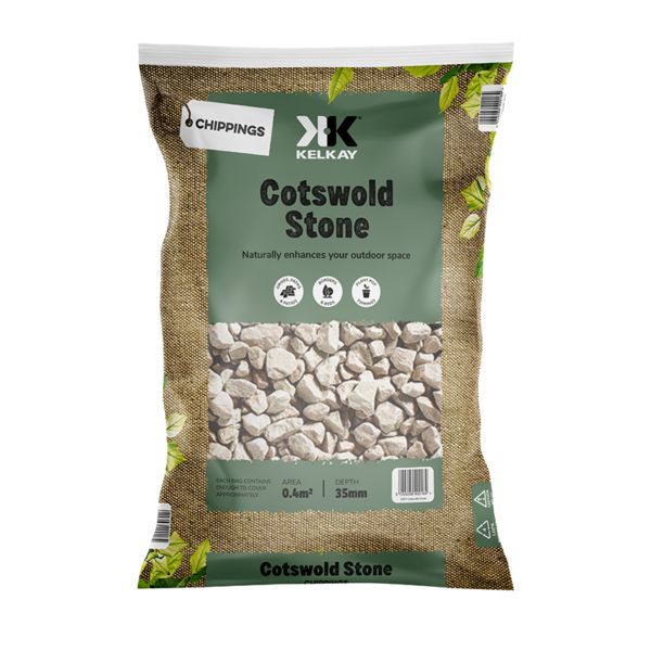 Kelkay Chippings - Cotswold Stone (Large Pack)