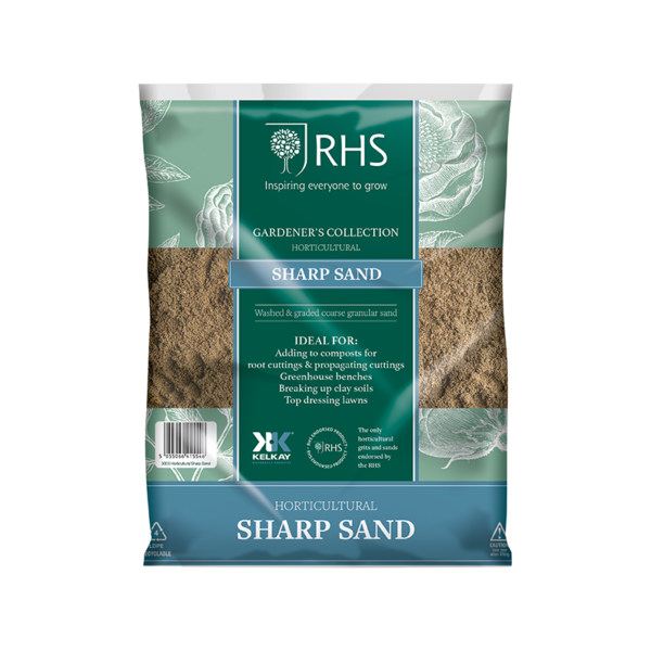 Kelkay RHS Horticultural Sharp Sand (Handy Pack)