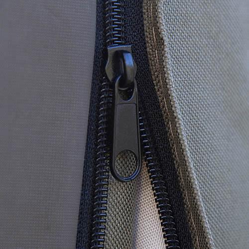 Bramblecrest Medium Parasol Cover in Khaki Zipper