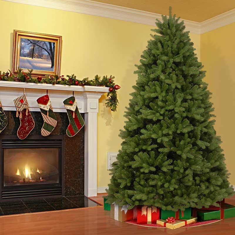 Christmas Tree Living.National Tree Company Newberry Spruce Artificial Christmas Tree