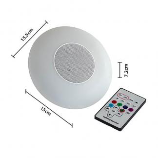 Bramblecrest Sidepost Parasol LED light with Bluetooth Speaker