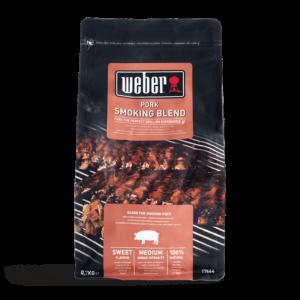 Weber Pork Smoking Blend Wood Chips for BBQ Smoking (0.7 kg)