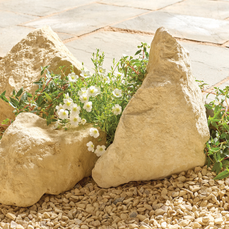 Display Kelkay Rockery Stone in Cotswold