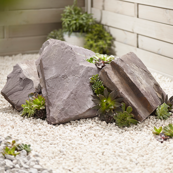 Kelkay Rockery Stone in Plum Slate