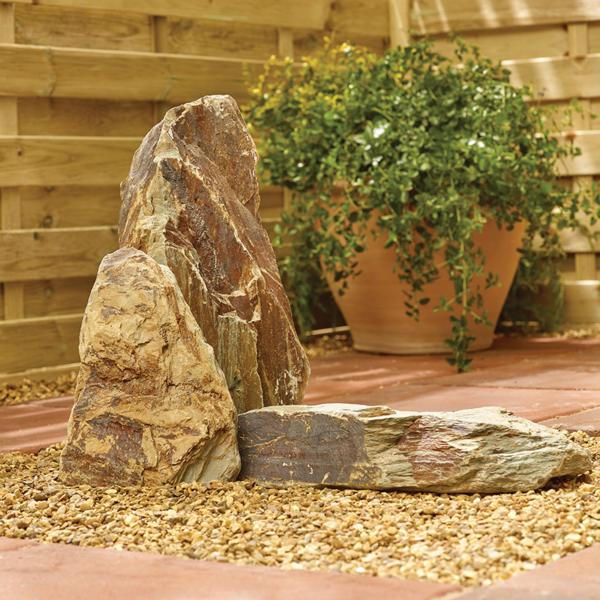 Rustic Slate Rockery Stone