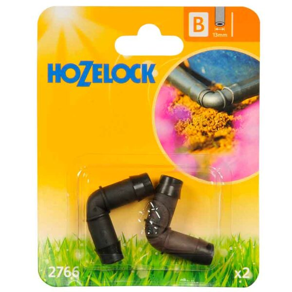 Pack of 2 Hozelock 90° Elbow Connector