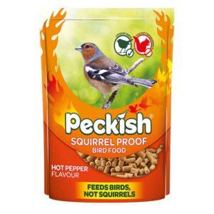 Peckish Squirrel Proof Bird Food Hot Pepper Flavour (1kg)