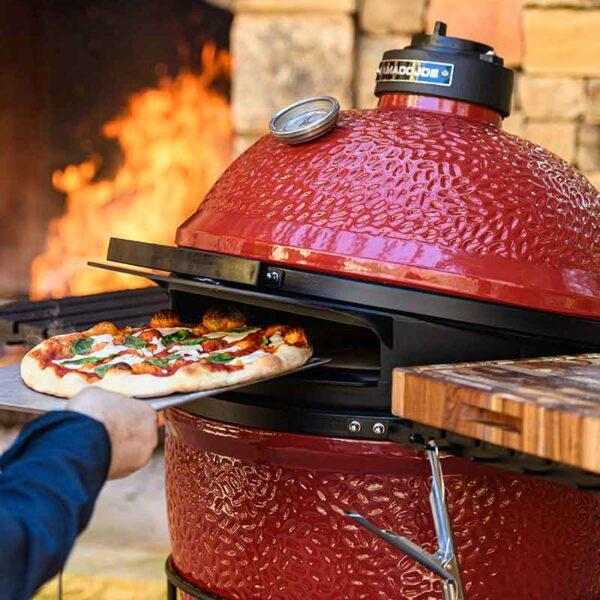 Pizza with a Kamado Joe Classic DoJoe