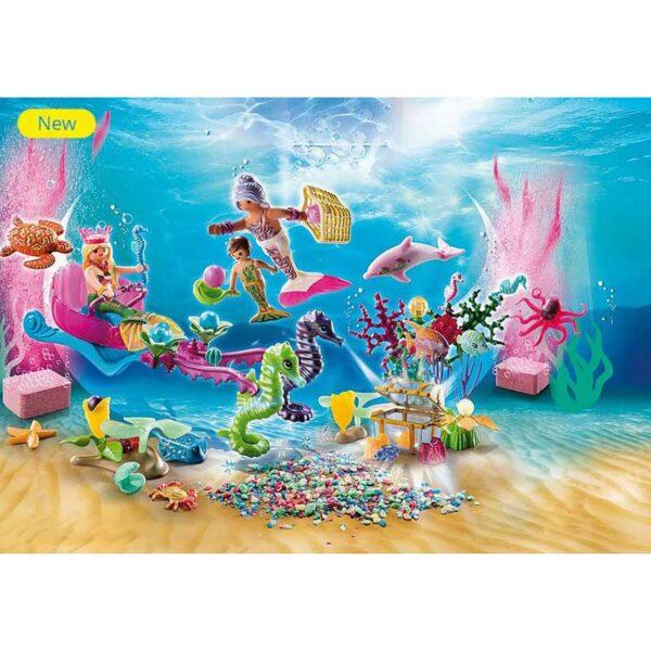 Playmobil-Advent-Calendar---Bathing-Fun-Magical-Mermaids-Scene