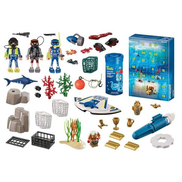 Playmobil-Advent-Calendar---Bathing-Fun-Police-Diving-Mission-GIFTS