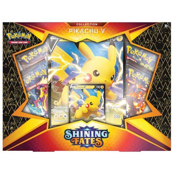 Pokemon Trading Card Game Shining Fates Pikachu V Collection Box 2