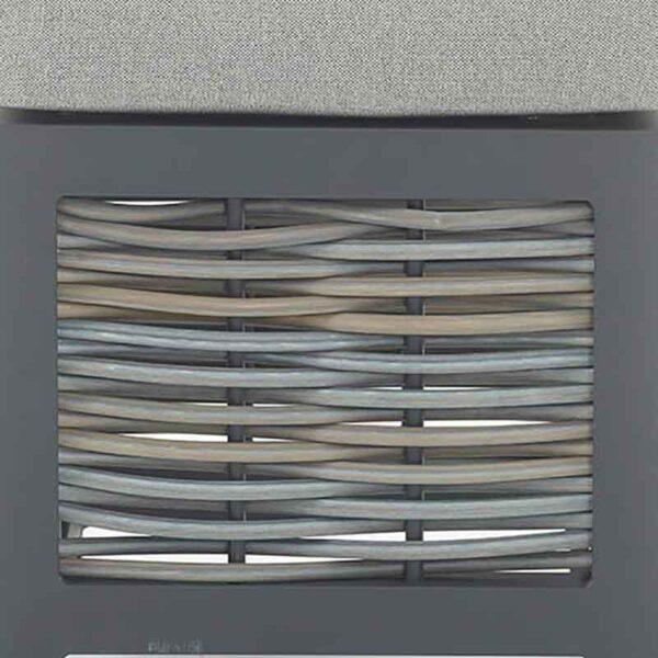 Portofino Frame, Weave & Fabric close up