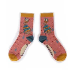 Powder Jumper Hare Ankle Socks