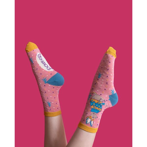 Powder Jumper Hare Ankle Socks Lifestyle