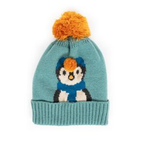 Powder Ladies Cosy Penguin Hat in Ice