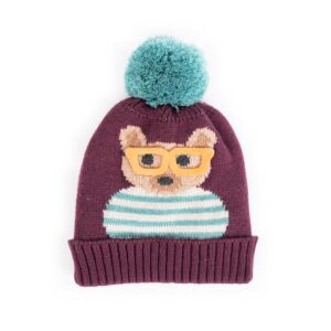 Powder Ladies Cosy Teddy Hat-Damson