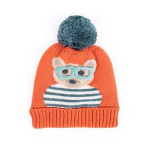 Powder Ladies Cosy Teddy Hat-Tangerine