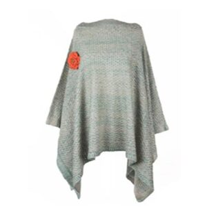 Powder Sophie Poncho in Teal