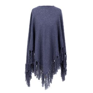 Powder Tara Poncho in Navy