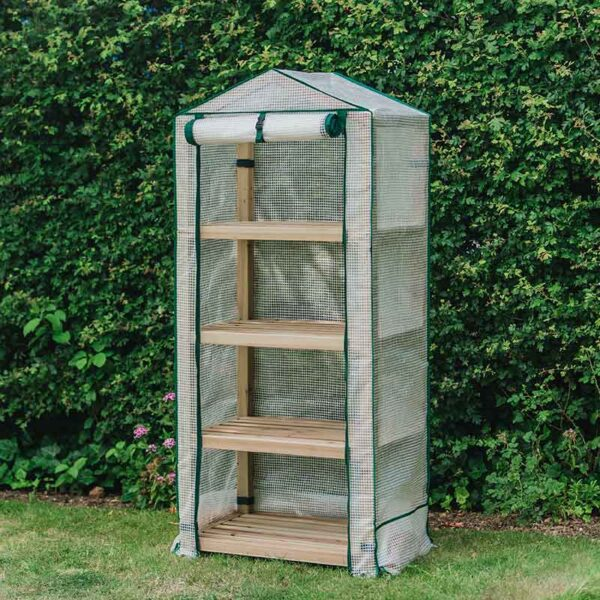 Premium 4 Tier Wooden Growhouse