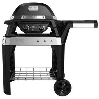 Weber Pulse 2000 Electric Grill Barbecue with Cart (Black) #85010074